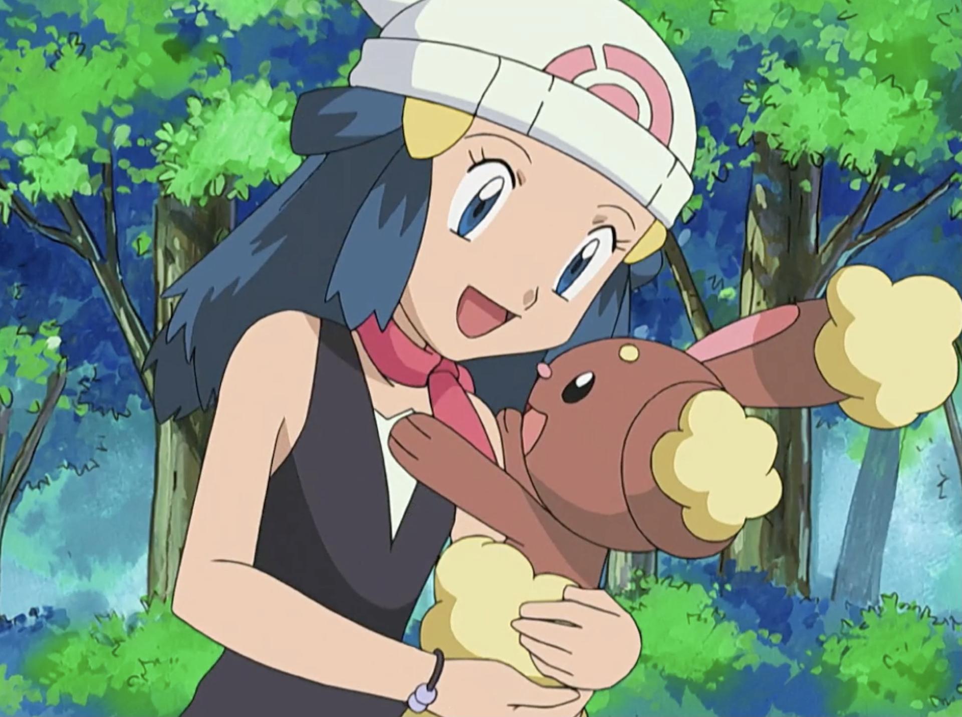 Dp009 Setting The World On Its Buneary Pokémon Wiki Fandom