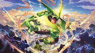 Mega Rayquaza Pokemon TCG XY Roaring Skies