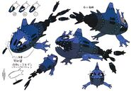 Wishiwashi concept art 2