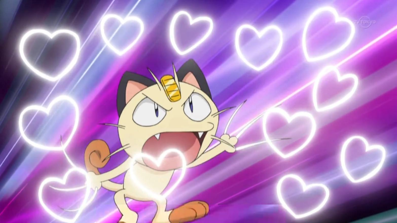 Meowth Fury Swipes of Love