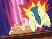 Ash Cyndaquil Quick Attack