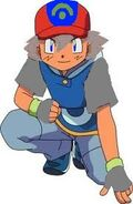 Ash crouching