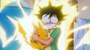 Ash pikachu young