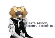 Justin Bibarel singing Bidoof.