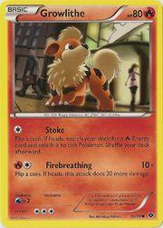 Growlithe card
