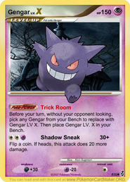 Gengar Card