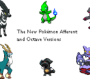 Pokémon Octave and Afferent Versions