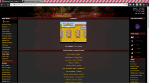 Minigames page