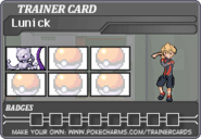 Trainercard-Lunick