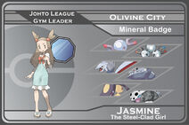 Johto gym leader 6 jasmine by johnriddle20-d33k7ra