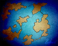 Tanthalos, kaart schets