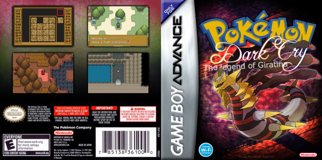 Firered hack: [hotm august 2009] pokemon dark cry: the legend of.
