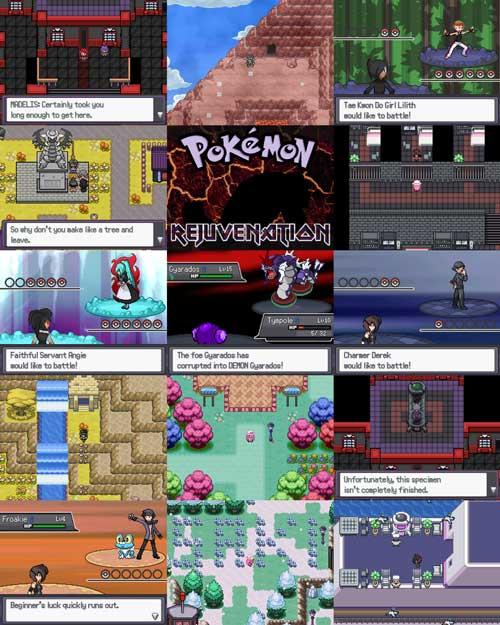 image pokemon rejuvination fan game jpg pokemonfanmadegameslist