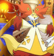 Aria Delphox Stage Clothing