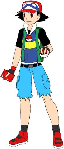 Ash Ketchum in Pokemon Aura