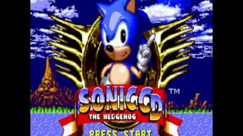 Sonic CD Title Screen Theme JAP