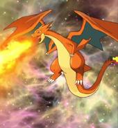 Mega Charizard Y Flamethrower