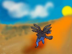 Hydreigon at Daybreak