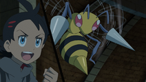 Goh and Beedrill