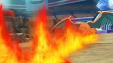 Trevor Charizard Fire Spin