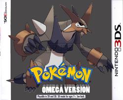 Pokémon Omega Version Boxart