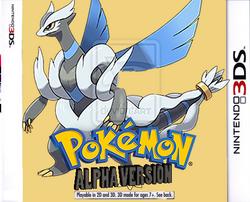 Pokémon Alpha Version Boxart