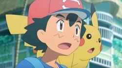 Ash and Pikachu Sun Moon