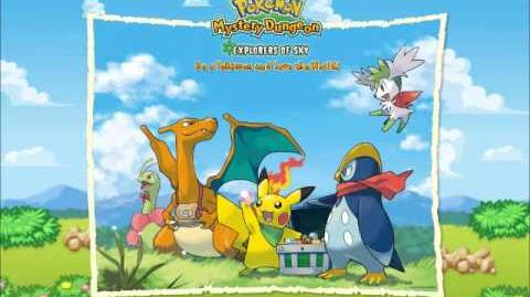 Pokemon- Mystery Dungeon Explorers of Sky- Crystal Cave- Music