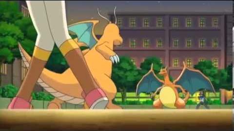 Ash's Charizard Returns (2) - Iris' Dragonite VS. Ash's Charizard
