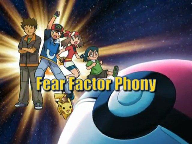 Fear Factor Phony
