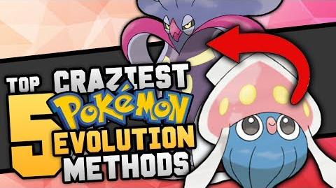 Top 5 Craziest Ways Pokémon Evolve