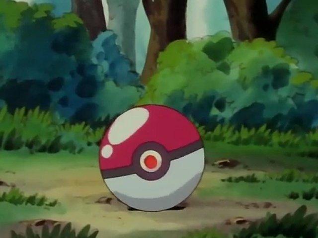 Ash Catches a Pokémon