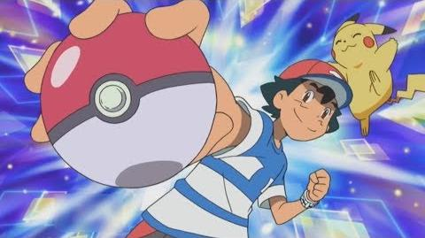 ASH CATCHES ROCKRUFF POKEMON SUN AND MOON ENGLISH DUBBED-1