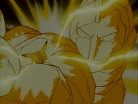 Ash Pikachu ThunderShock