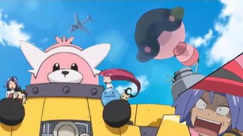 Bewear Saves Team Rocket By Jumping Off A Plane! (Kanto) Pokémon Sun & Moon Anime English Subbed