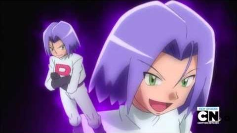 Pokemon Team Rocket motto from fishing connoisseur in a fishy competition