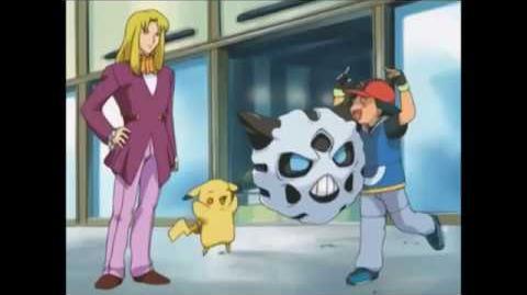 Ash's Snorunt evolves into Glalie