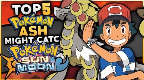 Top 5 Pokemon Ash Might Catch For His Team In The Pokemon Sun And Moon Anime