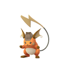 Raichu female detective shiny