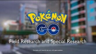 Pokémon GO - Field Research and Special Research