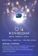 Beldum Pokedex