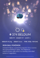 Beldum Pokedex