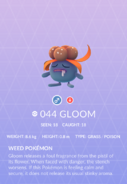 Gloom Pokedex