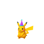 Pikachu party shiny
