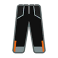 Pants M Black Orange.png