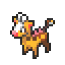 Girafarig 8bits