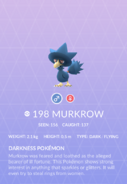 Murkrow Pokedex