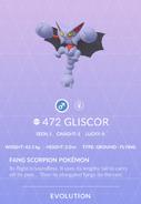 Gliscor Pokedex