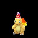 Charmander party hat shiny