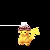 Pikachu winter